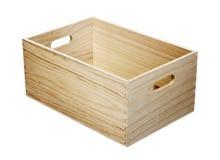Rectángulo de madera con las manetas imágenes de archivo libres de regalías