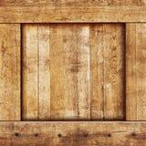 Rectángulo de madera de la vendimia Imagen de archivo libre de regalías
