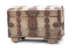 Rectángulo de madera viejo Imagen de archivo libre de regalías