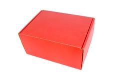 Rectángulo de papel rojo Fotos de archivo libres de regalías