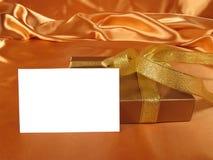 Rectángulo de regalo Fotografía de archivo