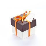 Rectángulo de regalo. Imágenes de archivo libres de regalías