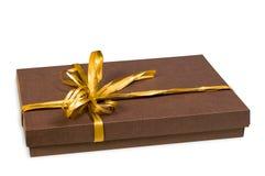 Rectángulo de regalo. Foto de archivo