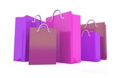 rectángulo de regalo 3d Imagen de archivo libre de regalías