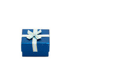 Rectángulo de regalo Foto de archivo libre de regalías