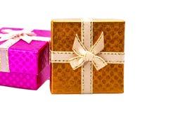 Rectángulo de regalo Fotos de archivo libres de regalías