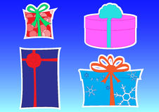 Rectángulo de regalo Imagen de archivo libre de regalías