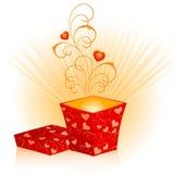 Rectángulo de regalo Fotografía de archivo libre de regalías