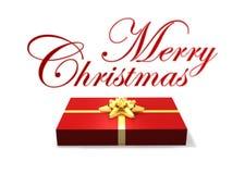 Rectángulo de regalo aislado Imagen de archivo libre de regalías