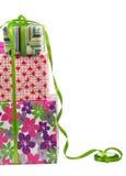 Rectángulo de regalo - camino imagen de archivo libre de regalías