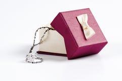 Rectángulo de regalo de boda Imagen de archivo libre de regalías