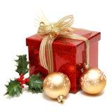Rectángulo de regalo de día de fiesta Fotos de archivo libres de regalías