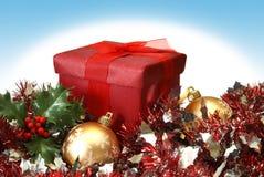 Rectángulo de regalo de día de fiesta Imagen de archivo libre de regalías