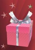 Rectángulo de regalo de la Navidad. Foto de archivo libre de regalías