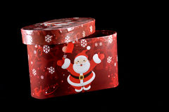 Rectángulo de regalo del invierno Fotos de archivo libres de regalías