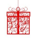 Rectángulo de regalo estilizado Fotografía de archivo