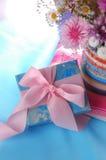 Rectángulo de regalo lindo Foto de archivo libre de regalías