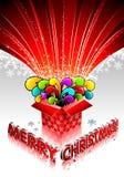 Rectángulo de regalo mágico Foto de archivo libre de regalías