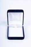 Rectángulo de regalo para el anillo Imagen de archivo