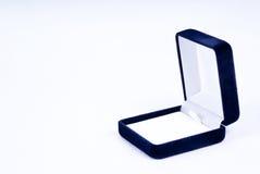 Rectángulo de regalo para el anillo Foto de archivo libre de regalías