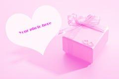 Rectángulo de regalo para la boda imagen de archivo libre de regalías
