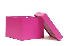 Rectángulo de regalo rosado Imagen de archivo