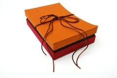 Rectángulo de regalo - seda tailandesa Fotos de archivo