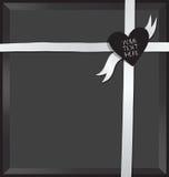 Rectángulo de regalo vacío Fotos de archivo