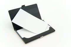 Rectángulo de tarjeta de Bussiness Fotografía de archivo