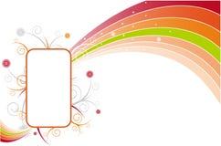 Rectángulo de texto Imagen de archivo libre de regalías
