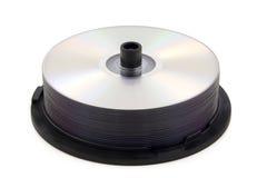 Rectángulo de torta de DVD Fotografía de archivo