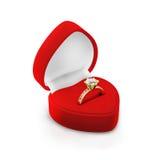 Rectángulo del anillo Foto de archivo libre de regalías