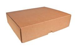 Rectángulo del cartón de Brown. imágenes de archivo libres de regalías