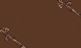 Rectángulo del chocolate Fotos de archivo