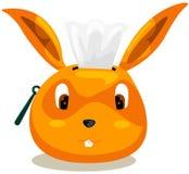 Rectángulo del conejo del tejido Foto de archivo