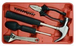 Rectángulo del kit de herramienta Imagen de archivo libre de regalías