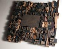 Rectángulo del marco de la impresión Imagenes de archivo