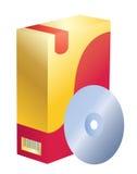 Rectángulo del software Foto de archivo libre de regalías