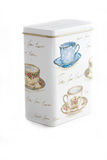 Rectángulo del té aislado fotografía de archivo libre de regalías