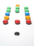 Rectángulo eléctrico del indicador Fotografía de archivo libre de regalías