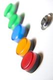 Rectángulo eléctrico del indicador Fotos de archivo libres de regalías