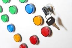 Rectángulo eléctrico del indicador Imagen de archivo libre de regalías
