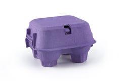 Rectángulo púrpura para el huevo Imagenes de archivo
