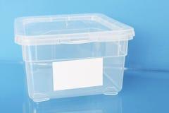 Rectángulo plástico Foto de archivo