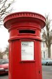 Rectángulo postal británico Imagenes de archivo