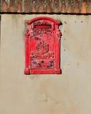 Rectángulo postal viejo Foto de archivo