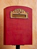 Rectángulo retro del franqueo Imagen de archivo