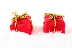 Rectángulo rojo Fotografía de archivo libre de regalías
