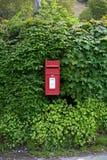 Rectángulo rojo del poste Imagen de archivo libre de regalías