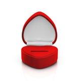 Rectángulo rojo vacío del anillo Foto de archivo libre de regalías